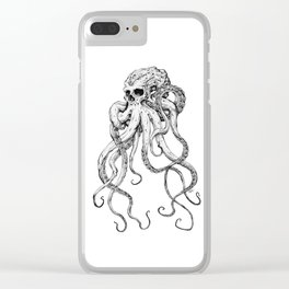 Octoskull Clear iPhone Case