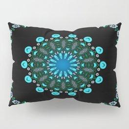 Traveller Tale (green-blue) Pillow Sham