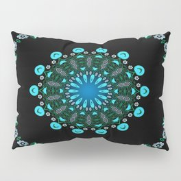 Traveller Tale (green-blue) Pillow Sham