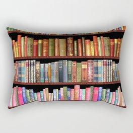Antique books ft Jane Austen & more Rectangular Pillow