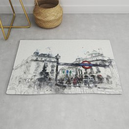 Piccadilly Circus London Rug