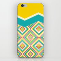 southwest iPhone & iPod Skins featuring Southwest by Jacqueline Maldonado