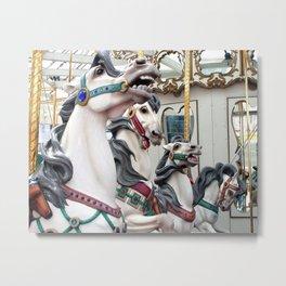 Carousel horses 02 Metal Print