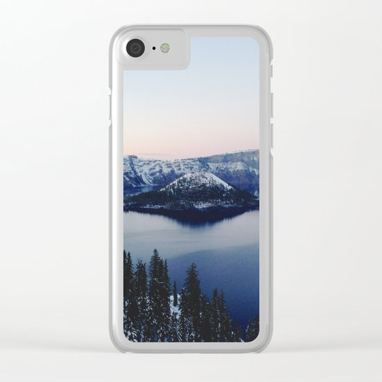 Crater Lake Clear iPhone Case