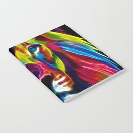 Colourful Lion Notebook