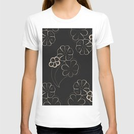 Light Sepia Flower Pattern #1 #drawing #decor #art #society6 T-shirt
