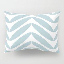 Aqua Fronds Pillow Sham