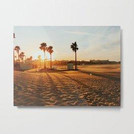 Malvarosa Beach Metal Print