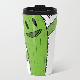 Cactus Rodeo Metal Travel Mug