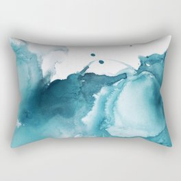 Butterfly in the Wind Rectangular Pillow