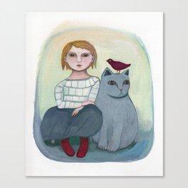 Emi's Cat Canvas Print