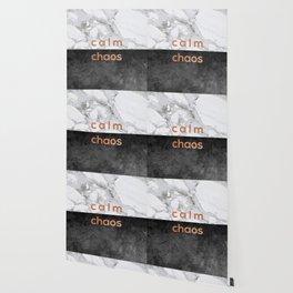 Calm Chaos Copper Wallpaper