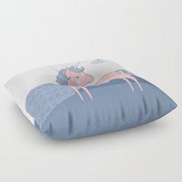 Unicorn hills Floor Pillow