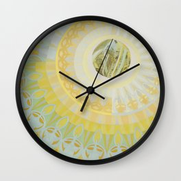 Lampshade Pattern Wall Clock