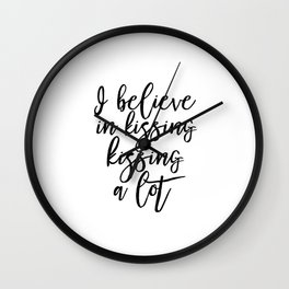 Audrey hepburn Quote Fashion Quote Printable Art Love Quote Print Audrey Hepburn Quote Print Wall Clock