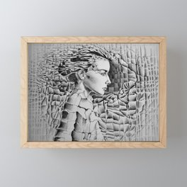Materials Framed Mini Art Print