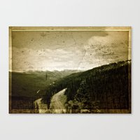 welcome Canvas Prints featuring Welcome  by n8 bucher