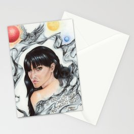 Mia Corvere Stationery Cards