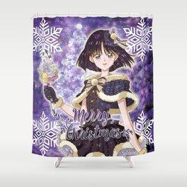 Merry Xmas Hotaru! Shower Curtain