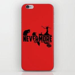 Nevermore iPhone Skin