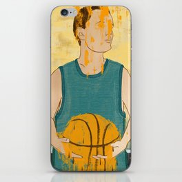 Losing my love for basketball iPhone Skin