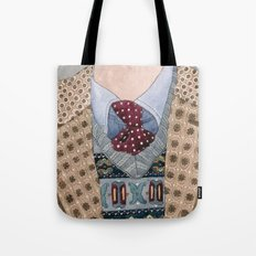 Pattern Dapperness Tote Bag