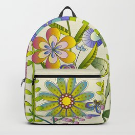 Petty Flowers Pattern 2 Backpack
