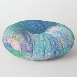 419 - Abstract Colour Design Floor Pillow