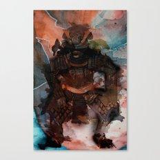 Samurai's Despair Canvas Print