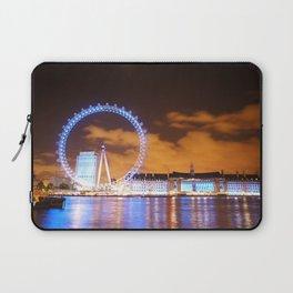London Midnight Eye Laptop Sleeve