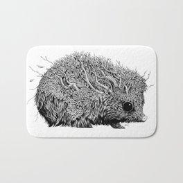 Leaf Hedgehog Bath Mat