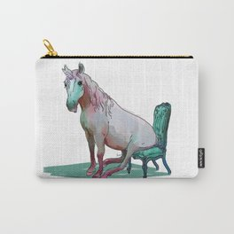 animals in chairs #22 The Unicorn Carry-All Pouch