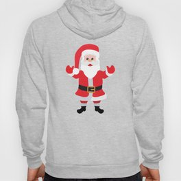 Christmas Santa Claus Says Welcome to You Hoody