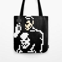 pun Tote Bags featuring Pun by Jjpro