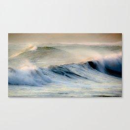 Waves at Cape Palliser, Wairarapa, New Zealand Canvas Print