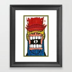 Eyebeam!PSCHAW! Framed Art Print