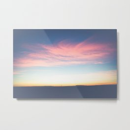 Marfa Lights Metal Print