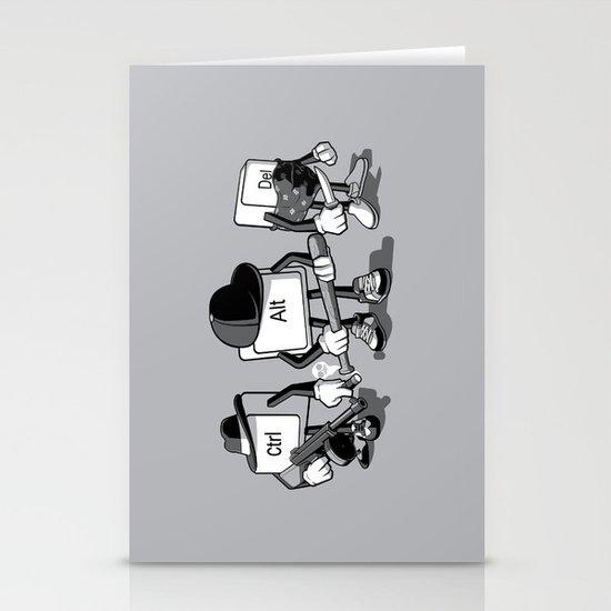Computer Mafia Stationery Cards