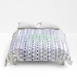 Grated Pattern Comforters