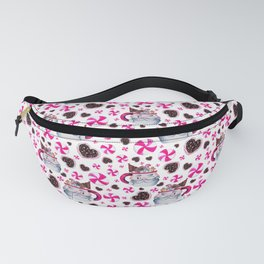 Santa Candy Cup Fanny Pack