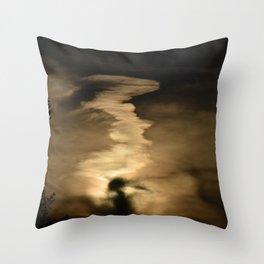 Cloudworld Throw Pillow