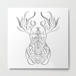 HERN Metal Print