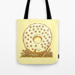 In Bloom Donut Tote Bag