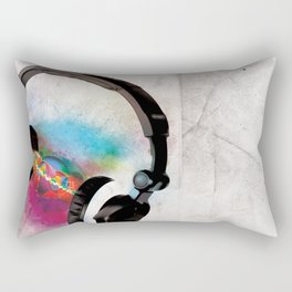 feeling sound Rectangular Pillow
