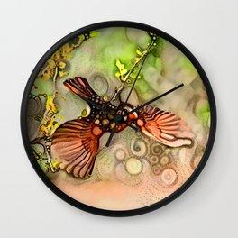 Lady Cardinal Wall Clock