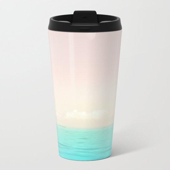 Sunset Sea Metal Travel Mug