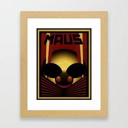 OBEY THE MAU5 Framed Art Print