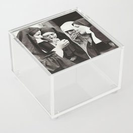 Nuns Smoking Acrylic Box