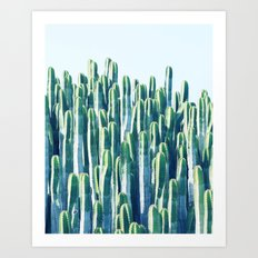 Cactus V2 #society6 #decor #fashion #tech #designerwear Art Print