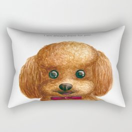 I am always there for you Rectangular Pillow